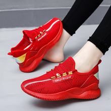 Damyuan 2020 Fashion Girl Women Comfortables Breathable Non-leather Casual Lightweight Running Gym Shoes Sneakers Flats damyuan usps flat shoes women running shose womens flats casual lightweight comfortable breathable women sports shoes sneakers