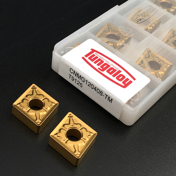 10pcs CNMG120408 TM T9125 High Quality Carbide Inserts External Turning Tool Hard Alloy CNMG 120408 CNC Lathe Tools For Steel