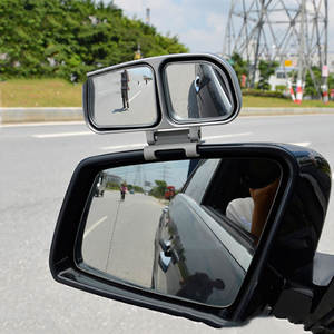 Rearview-Mirror Sure Car-Blind-Spot with 360-Degree Adjustable Eliminate Driving-Safety