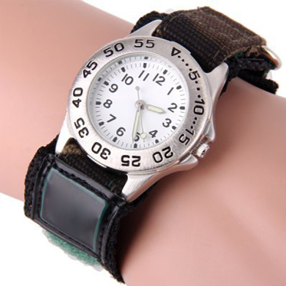 Nylon Gift Watch Eco-friendly Sports Boy Girl Kids Children Student Luminous