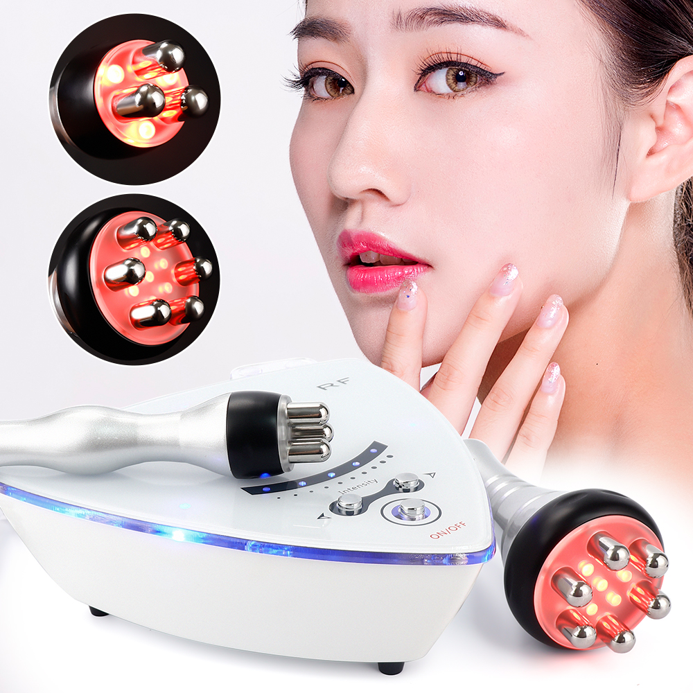 RF Radio Frequency Facial Machine Facial Device For Skin Rejuvenation Wrinkle Removal Skin Tightening Anti Aging Skin Care image
