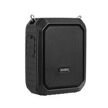 4400 мАч усилитель голоса портативный Bluetooth мегафон IPX 5 водонепроницаемый 18 Вт Мини громкоговоритель с микрофоном Поддержка ремня AUX TF U диск