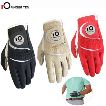 New Mens Golf Glove All Weather Velcro Stable Grip Left Right Hand Weathersof Size Small Medium Large XL Drop Shipping