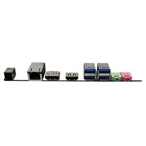 Image 5 - Voor Gigabyte Mqhudvi Dunne Mini 17*17 FM2 A75 Moederbord Itx Dc Aangedreven Lvds Originele Gebruikt Moederbord