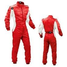 Одежда для гоночных автомобилей, летняя одежда для гоночных тренировок, не пожаробезопасная одежда