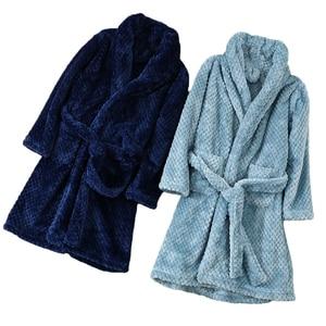 4-18 Year Autumn Winter Bathrobe kids sleepwear robe 2020 Children bath robe warm soft pajamas for girl boy Teenage Flannel Robe