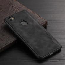 AMMYKI Soft Silicone Case For Xiaomi Mi 5 5S 6A Tpu Pu leather Case for Xiaomi Redmi Note 5A Prime Y1 Lite Case
