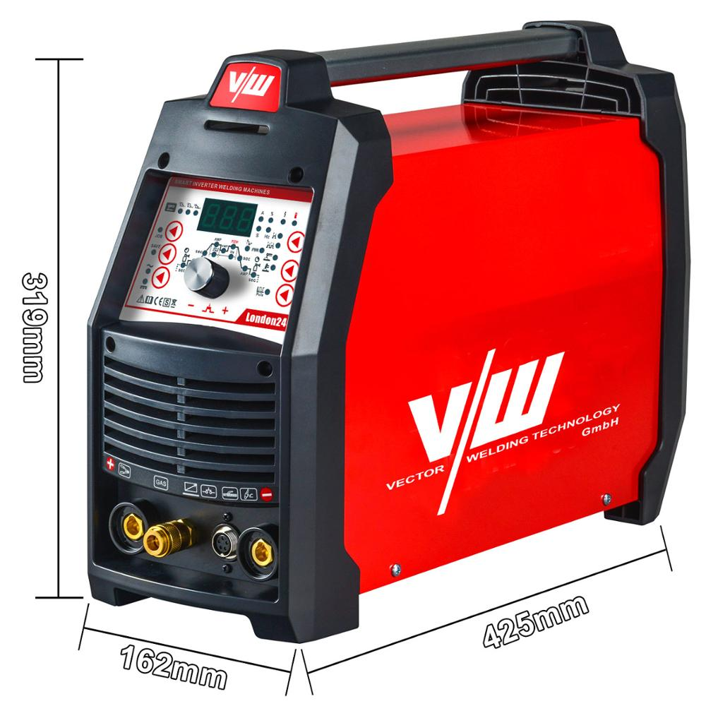 Tools : Tig Welder 220V 4in1 AC DC electrode inverter MMA Tig 200a CDC TIG Pulse TIG welder