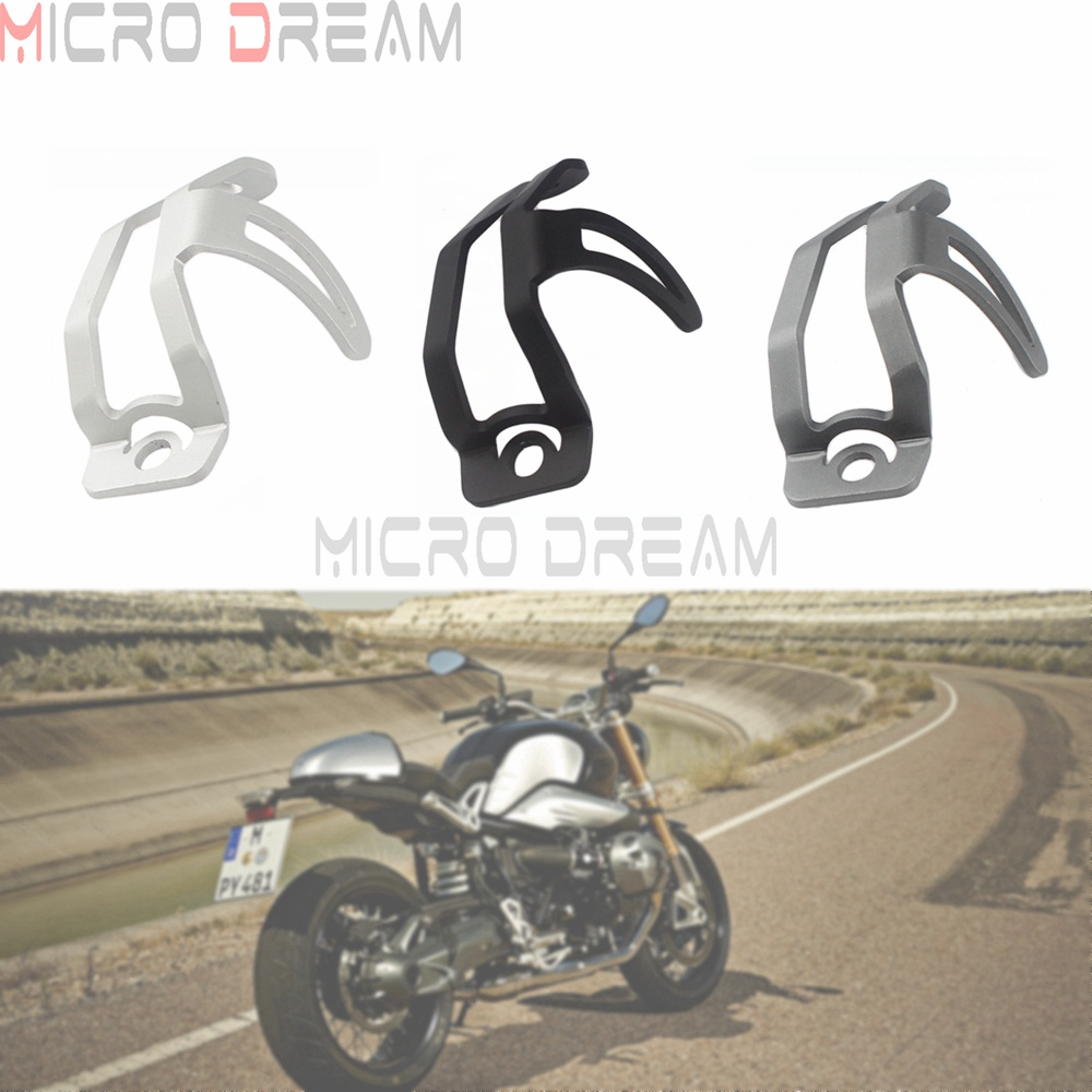 For BMW R1200GS R 1200 GS 2008 2009-2013 Motorcycle Rear Brake Reservoir Guard Cover <font><b>3</b></font> Colors For R nine T 2014 2015 <font><b>2016</b></font> 2017 image