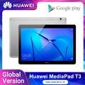 В наличии глобальная версия Huawei MediaPad T3 10 планшет LTE 2 Гб оперативной памяти, 16 Гб встроенной памяти, 9,6 дюймов T3 устройство, док-станция Qualcomm ...