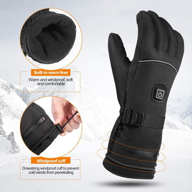 Temperature Control Gloves Automobiles & Motorcycles Material: 100% Polyester