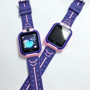 Image 3 - AISHI Q12 enfants montre intelligente SOS téléphone montre Smartwatch pour enfants carte Sim Photo étanche IP67 pour IOS Android VS S12 Q12B