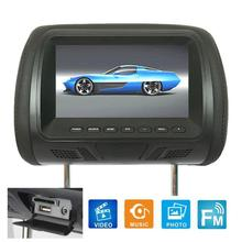 7 Inch 12V Audio Player MP5 Display Car LCD Digital Display HD Headrest Monitor Rear Seat Entertainment With Remote Control Hot