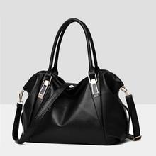 Msoard Women Handbag Female Quality PU Leather Bags Handbags Ladies Solid Colo Shoulder Bag Office Ladies Hobos Bag Totes