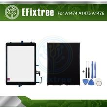 Высокое качество A1474 A1475 A1476 Сенсорная панель ЖК-дисплей экран для iPad Air сенсорный экран дигитайзер панель Черный Белый