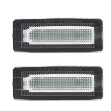 2x18 SMD LED 번호판 번호 라이트 램프 오류 무료 벤츠 스마트 Fortwo 쿠페 컨버터블 450 451 W450 W453