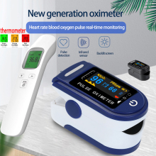 Przenośny pulsoksymetr napalcowy tlenu we krwi miernik nasycenia palca Pulsoximeter SPO2 Monitor Oximetro dedo termometr do ucha tanie tanio Alextrasza Dla palców Pulsoksymetria