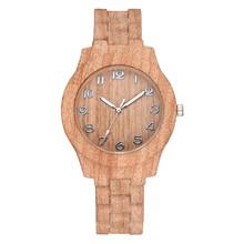 Fashion Casual zegarek dla mężczyzn i kobiet cyfry arabskie Retro drewno tekstury zegarek kwarcowy sukienka zegarek damski zegarek reloj mujer tanie tanio QUARTZ NONE Bransoletka zapięcie CN (pochodzenie) Ze stopu Nie wodoodporne Moda casual 17mm ROUND 13mm Szkło 39cm Nie pakiet