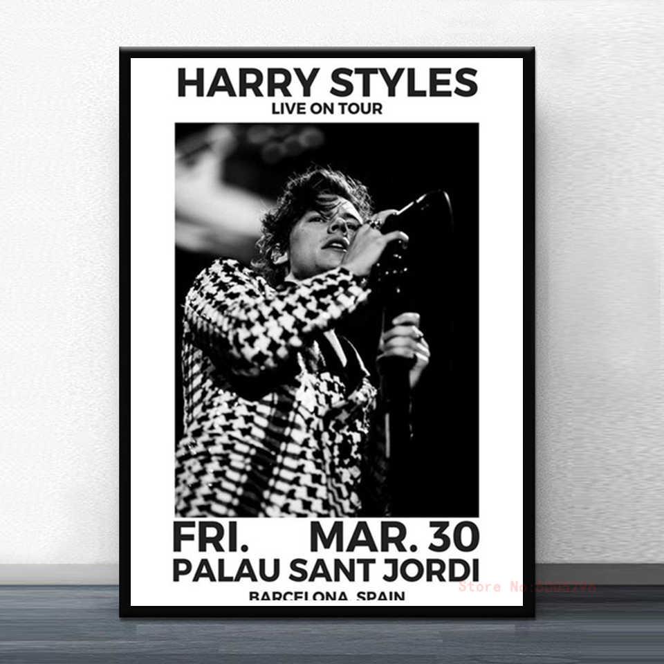 harry styles poster musik star poster hd drucken moderne leinwand malerei wohnzimmer wand kunst wandbild dekoration