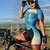 Vezzo bicicleta das mulheres tri terno triathlon terno 2020 aero terno skinsuits mtb camisa de ciclismo ao ar livre roupas esportivas ropa ciclismo 11
