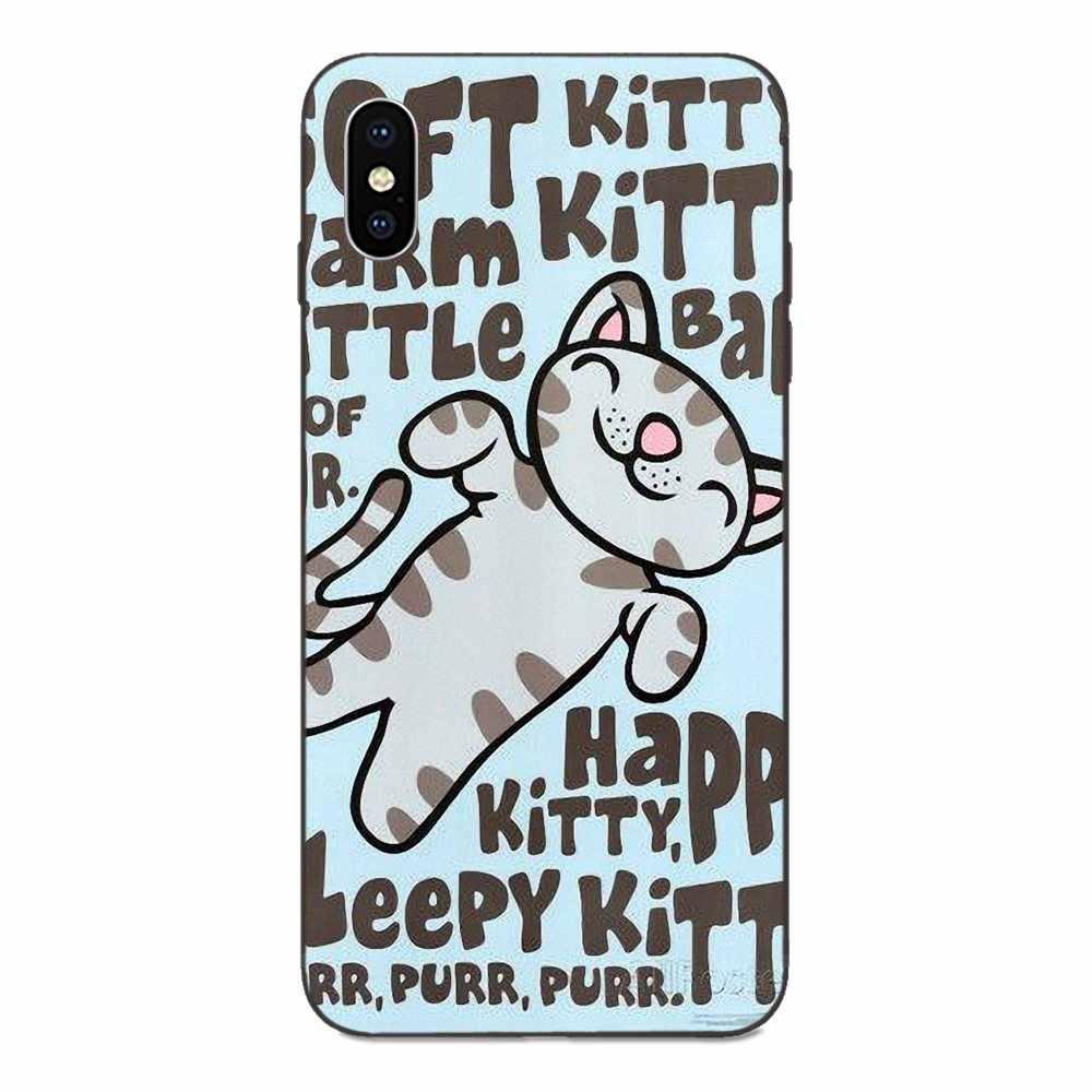 Dla Xiaomi Redmi uwaga 3 3S 4 4A 4X5 5A 6 6A 7 7A K20 Plus Pro s2 Y2 Y3 TPU przypadku Capa teoria wielkiego podrywu miękkie Kitty Tbbt