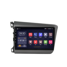 2 din Android 8.1 Navigation GPS WIFI Car Radio Multimedia Video Player For Honda Civic 2012 2013 2014 2015
