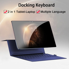 Face ID 4G LTE 2 in 1 Tablet PC 11.6 Inch Tablet Laptop 1920 1080 Android Tablet With Keyboard Dual SIM Card with Google Store