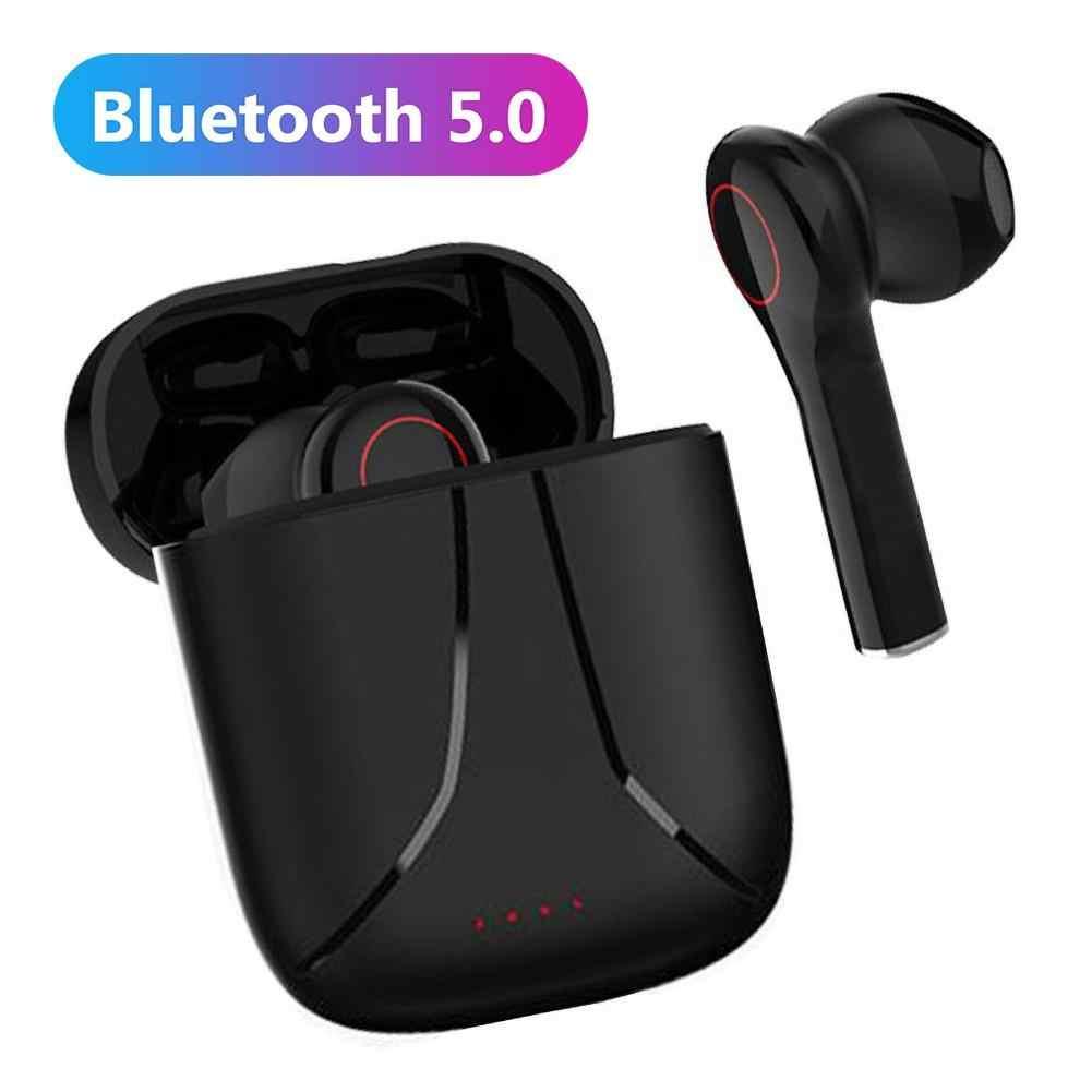 Einzel Kopfhörer Bluetooth 5.0 Kabellos In-Ear Ohrhörer Headset Stereo Sport