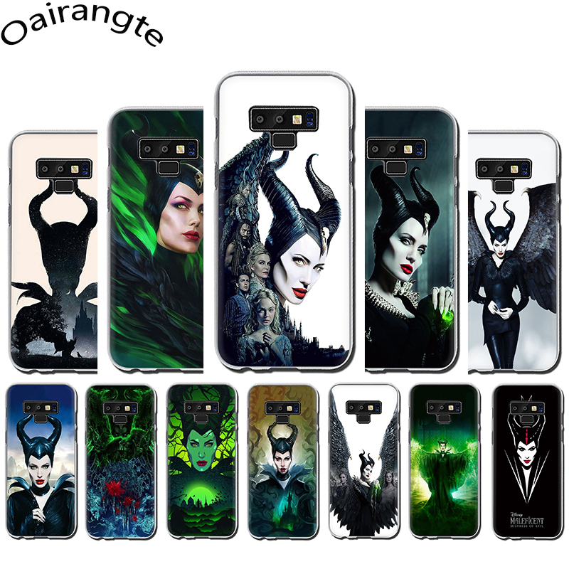 MALEFICENT <font><b>2</b></font> MISTRESS OF EVIL Hard phone cover case for Samsung Galaxy A3 <font><b>5</b></font> 2017 A6 7 8 9 2018 A10 30 40 50 <font><b>70</b></font> image