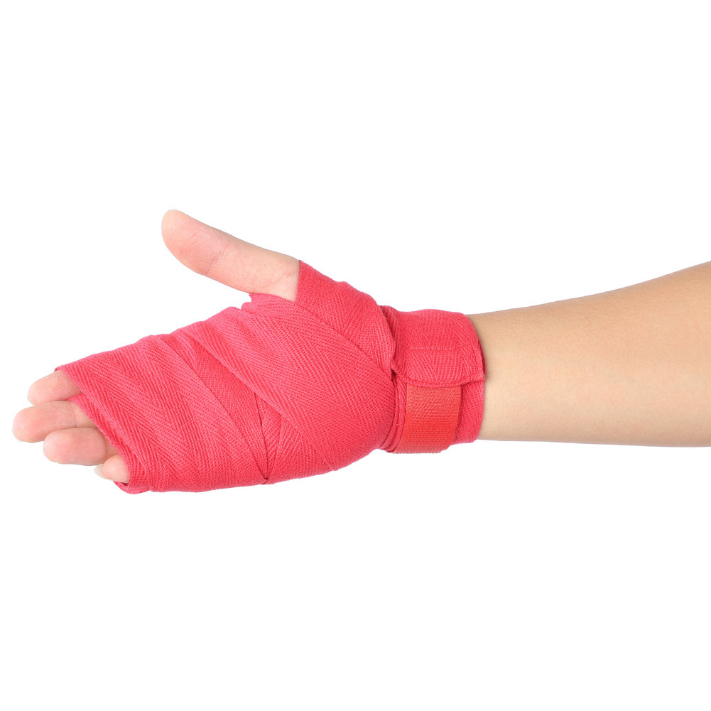 total of 4 Wraps Two pairs of Boxing//MMA Hand Wraps