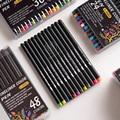 Andstal 60 цветов тонкая линия набор ручек для рисования 0,4 мм маркер вкладыш для ноутбука мультфильм краска школа планирования цветные ручки