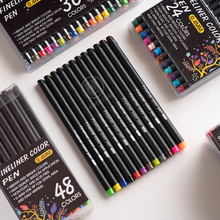 Andstal 60 Colors Fine Line Drawing Pen Set 0.4mm Fineliner Marker Liner for Notebook Cartoon Paint Planner School colored pens
