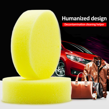 Multifunctional Car Wheels Brush Sponge Cleaner Tools For Shoes Car Seat Waxing Polishing Brush Cleaning Tools Cleaning Sponge image