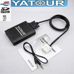 Image 1 - Yatour マツダ 2 3 6 CX7 RX8 mpv 車 Mp3 プレーヤー usb アダプタオーディオ MP3 aux bluetooth インターフェースのデジタル cd チェンジャー Yt m06