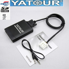 Yatour for Mazda 2 3 6 CX7 RX8 MPV Car Mp3 Player USB Adapter Audio MP3 AUX Bluetooth interface Digital CD Changer Yt m06