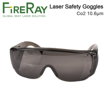 цена на FireRay 10.6um 10600nm Laser Safety Goggle Shield Protection For CO2 Laser Cutting Engraving Machine