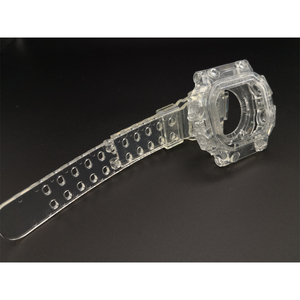 Image 3 - Reemplazo de correa de silicona para reloj GX56, correa de goma deportiva resistente al agua, correas de reloj transparentes, bisel, herramienta de banda de reloj
