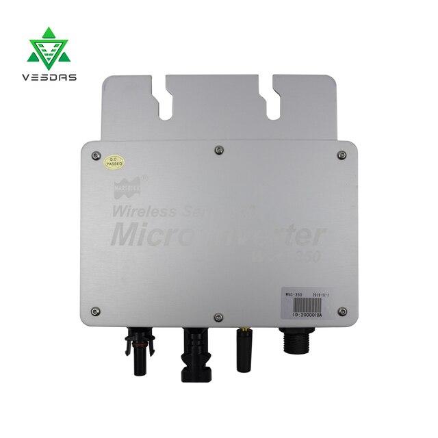 350W Micro Inversor Solar Grid tie inverter Ip65 Pure Sine Wave Inverter Regulator Input 22-50V Output 80-160V or 180-260V 4