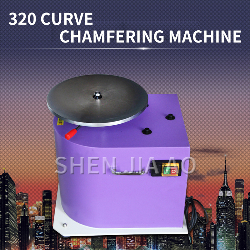 1 pc curva chanfradura máquina de chanfradura irregular tabela arco chanfradura ferramenta 8000rpm velocidade chanfradura máquina 380 v|Machine Centre| |  - title=