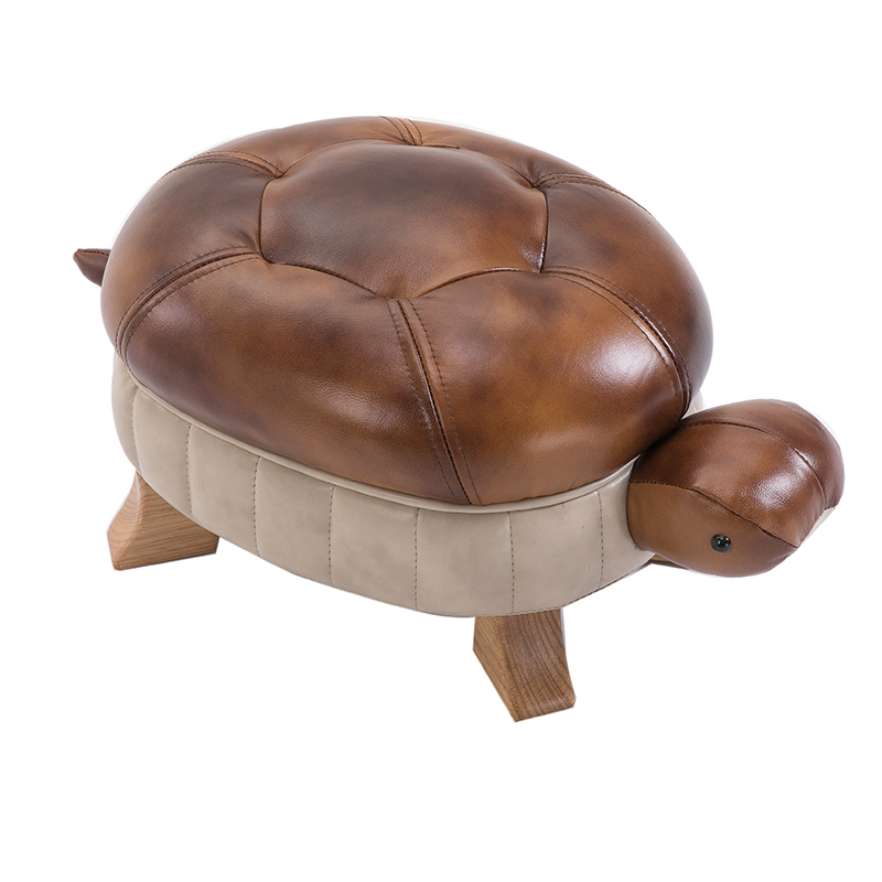Solid Wood Footstool Originality Tortoise Stool Stool Sofa Stool Feet Low Stool Shoe Bench Riches And Honour Recruit Wealth