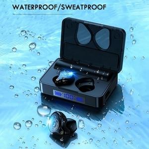 Image 4 - TWS Bluetooth Earphones 5.0 Sport Wireless Headphones Headset Blutooth Earphone Led Display Earbuds With 3600 mAh Charging Box