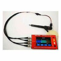 LCR02 common rail dizel yakıt elektromanyetik enjektörleri test EUI/EUP ZME DRV vana enjektör LCR test cihazı İngilizce sürüm