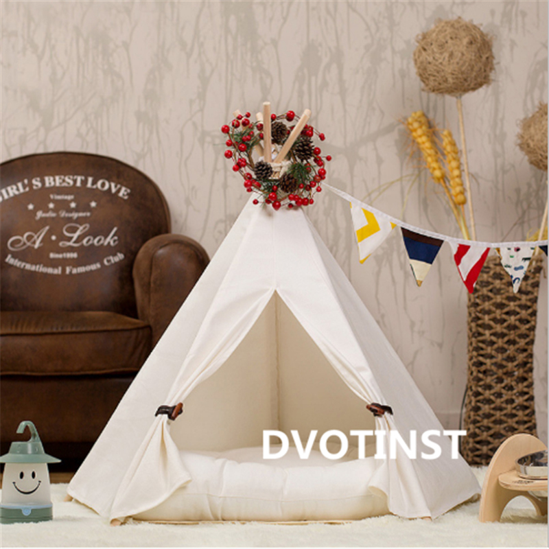 Image 5 - Dvotinst Newborn Baby Photography Props Mini Wigwam Tent Decoration Fotografia Accessories Infantil Studio Shooting Photo Prop-in Hats & Caps from Mother & Kids