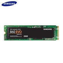SAMSUNG 500GB SSD 860 EVO M.2 2280 SATA 1TB 250GB Internal Solid State Disk Hard Drive HDD M.2 Laptop Desktop PC TLC PCLe M.2