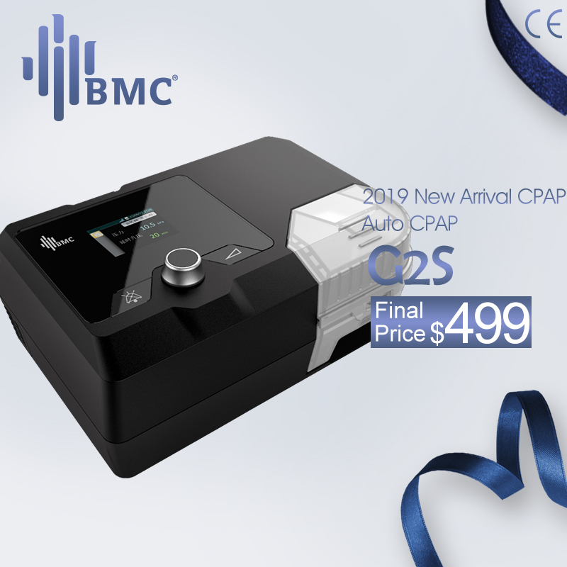 BMC New Arrivals CPAP Machine G2S C20/A20 Homeuse Medical Equipment For Sleep Snoring And Apnea With NM4 Mask And Humidifier