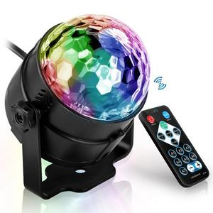 Sound Activated Rotating Disco