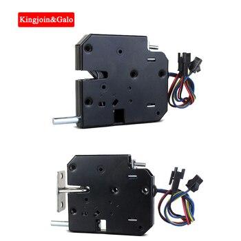 Top mini electric lock 2pcs simply 12v magnetic cabinet lock,logistic locker lock Cabinet storage Elastic lock gate lock logistic management