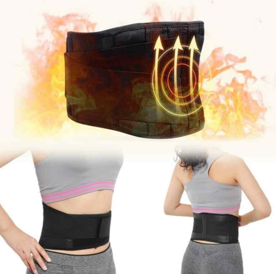 Adjustable Tourmaline Self-heating Magnetic Foot Care Tool Therapy Waist Belt Lumbar Support Back Waist Support Double