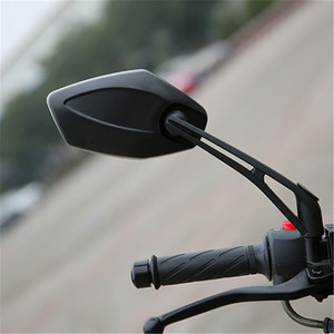 Image 3 - レース moto cross 表示部分黒 moto 用 honda Kawasaki Z750 Z1000 ZRX1100 ZRX1200 ミラー moto rcycle バックミラー
