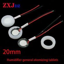 20mm Household Humidifier Universal Atomizing Film Cartoon Transducer Ultrasonic Humidifying Tablet Spray